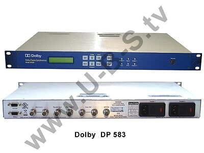 Generous Dolby Dp 583 Dolby E Frame Synchronizer Audio For Video Sommerspecial Mit Knallerpreis Other Consumer Electronics
