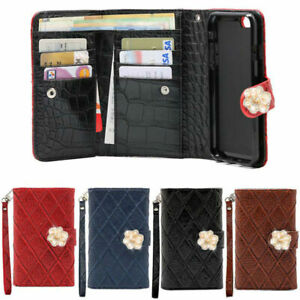 Nelcha Pearl Wallet Case for Samsung Galaxy Note10 Note9 Note 8 5 Edge 4 3 NEO