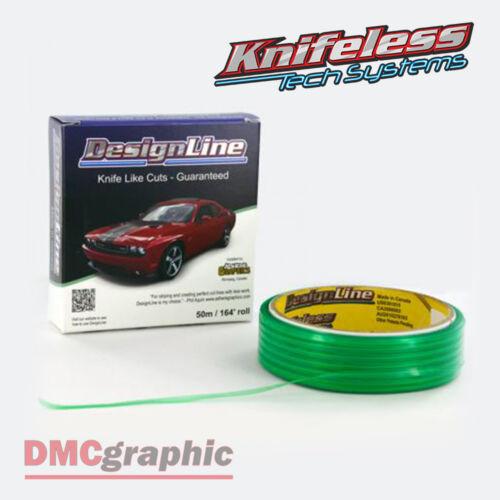 10m Knifeless Designline Tape Fine Curve Trim Cutting Graphics Vinyl Wrap 3.5mm