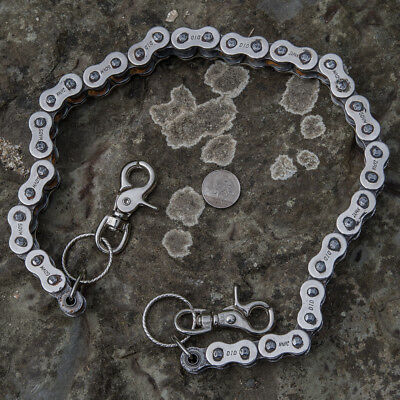 Motorbike Chain Belt Keychain DID 50VM Bike Chain Biker Metal  feeanddave