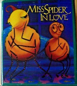 Harmony-Kingdom-Miss-Spider-In-Love-2000-Romance-Monique-Baldwin-HGMS-MIOB