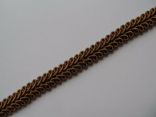10mm SILKY SCROLL BRAID Blinds Lampshade Costume Upholstery Furnishing Gimp Trim