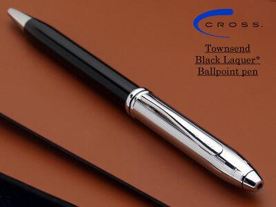 Brushed Black Etched Honeycomb Cross Scuderia Ferrari Townsend Ballpoint Pen