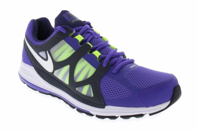 new arrival 16d15 4dd54 Nike Womens Zoom Elite Size 11.5 Pure Purple Grey Volt Running Shoes 487973  517