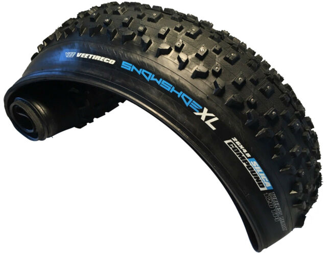 Vee Rubber 26x4 8 Snow Shoe Xl Studded Fat Tire Folding Bead Silica Compound For Sale Online Ebay