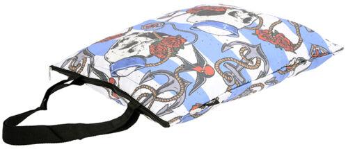 Tasche Rockabilly Liquor Brand NAUTICAL SKULL Sailor Shopping BAG