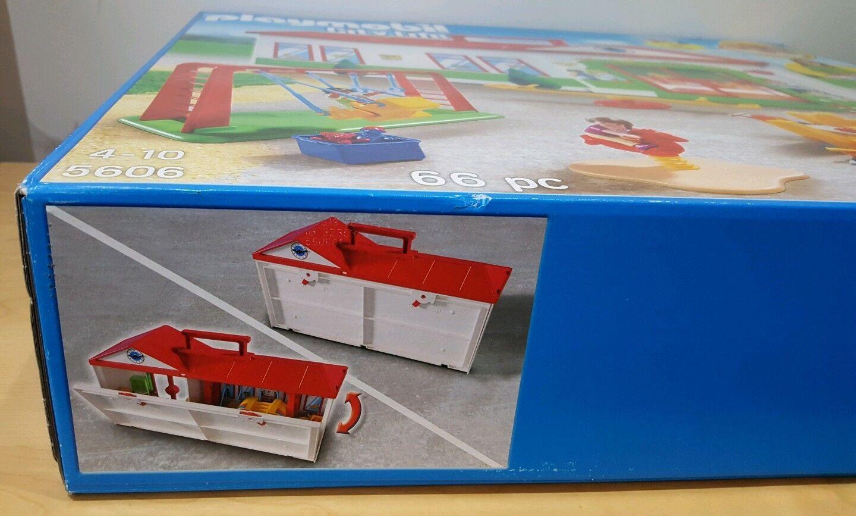 PLAYMOBIL PLAYMOBIL PLAYMOBIL 5606 CITY LIFE NURSERY PRE SCHOOL KINDERGARTEN PLAYGROUND TOY NEW XMAS eff91e