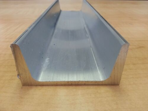 "Aluminum Channel 6063 .75/"" x .75/"" Sharp Corner x 48/"""