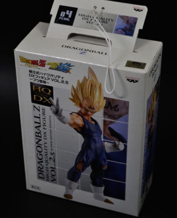 HQDX DragonBall Z Majin Vegeta & Super Boo Figure Set