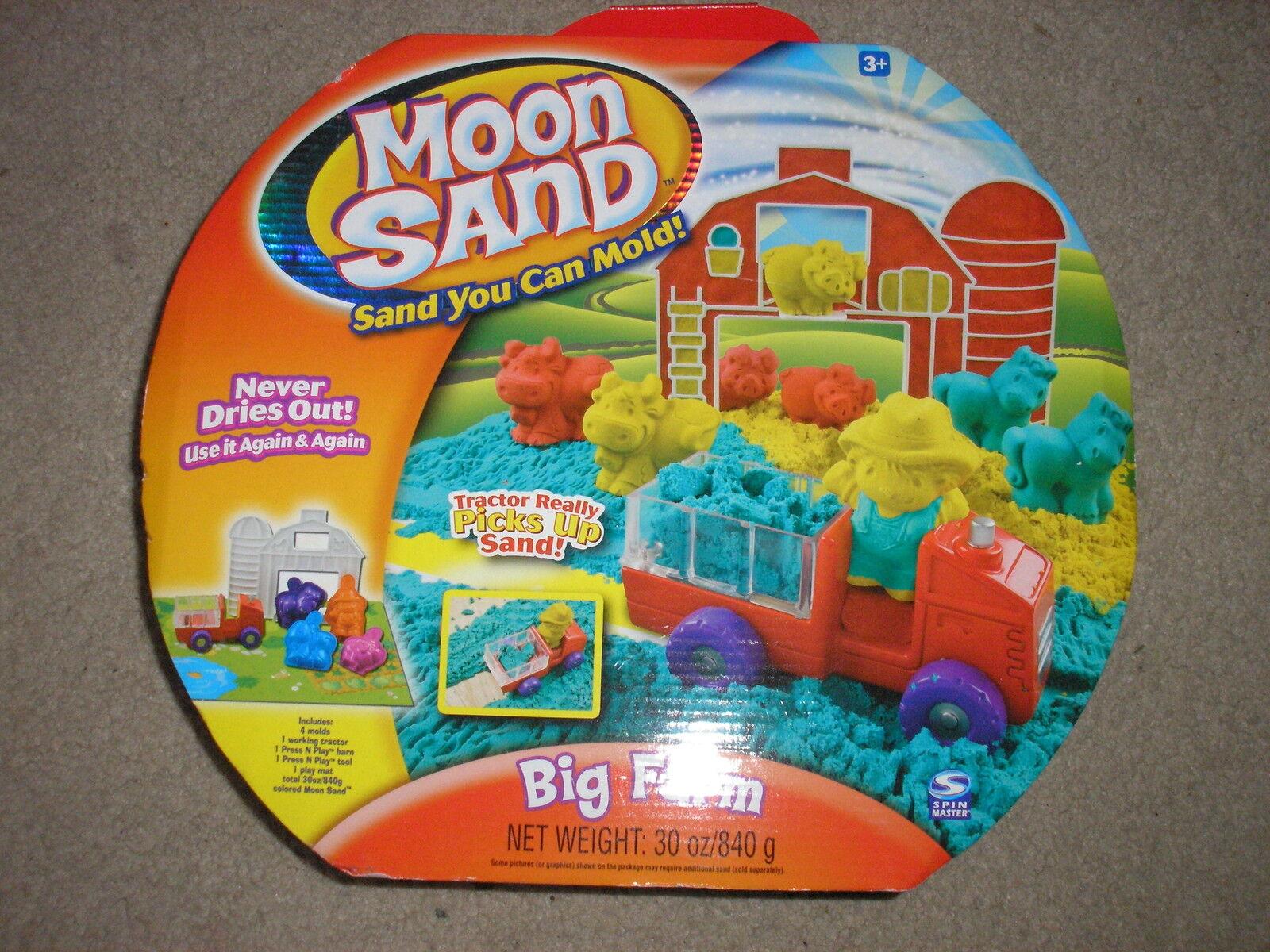 barato y de alta calidad Nuevo Spin Master Master Master Moon Sand gran granja con Tractor Jugarmat Barn  salida para la venta