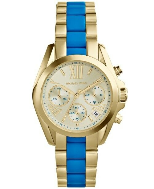 b541b17f0b1b Michael Kors Women s Mk5908  bradshaw  Mini Chronograph Two-tone Watch