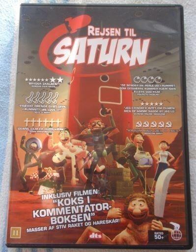 Rejsen til Saturn, DVD, animation