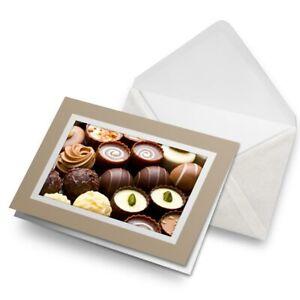 Greetings-Card-Biege-Chocolate-Pralines-Sweets-2591