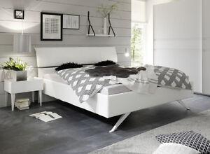 Letto Matrimoniale Moderno Bianco.Rex Letto Matrimoniale Cosmo Ecopelle Bianco Moderno Imbottito Ebay