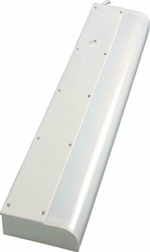 Warm White GE Basic 18 Inch Fluorescent Under Cabinet Light Fixture Plug In