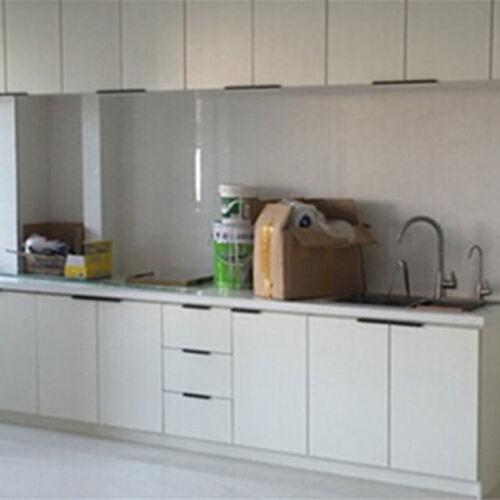 Black White Hidden Cabinet Handles Aluminum Alloy Kitchen Cupboard Pulls