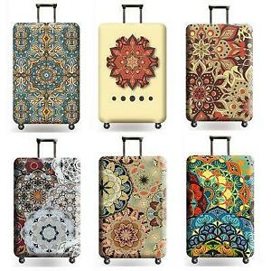 Travel-Luggage-Suitcase-Cover-Protector-Bag-Scratch-Dust-WaterProof-Mandala-Hot