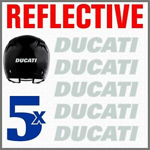 5pcs-White-Grey-Reflective-Stickers-Motorcycle-Ducati-Monster-696-769-999