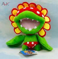 Super Mario Brothers Petey Piranha Plant 6 Inch Plush Toy Figure Stuffed Doll