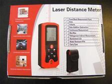 40M/131FT Laser Distance Meter Range Finder Built in Level Carry Case Batteries