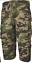 S05 Uomo 3//4 Elastico in Vita Lunga Zip Off Pantaloncini Cargo Combat 7 Tasche Mimetico