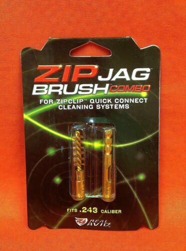 REAL AVID Zip Jag Brush Combo Fits .243 Caliber #AVZW243-A