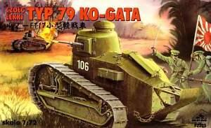 Japanese Light Tank Type 79 Ko Gata Japanese Renault