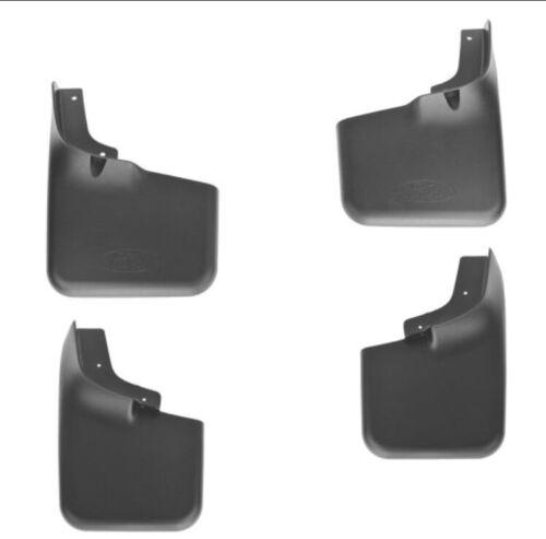 04 thru 14 F-150 OEM Ford Molded Splash Guards Mud Flaps w//o Wheel Lips 4-pc