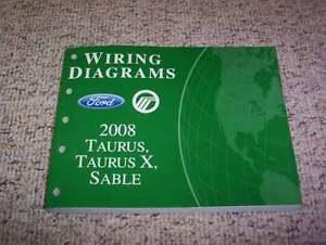 2008 ford taurus wiring diagram 2008 ford taurus x electrical wiring diagram manual sel eddie  2008 ford taurus x electrical wiring
