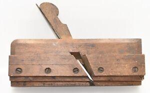 "Vintage 7/8"" John Birch & Co. (Birmingham) Side Bead Molding Plane (INV H196)"