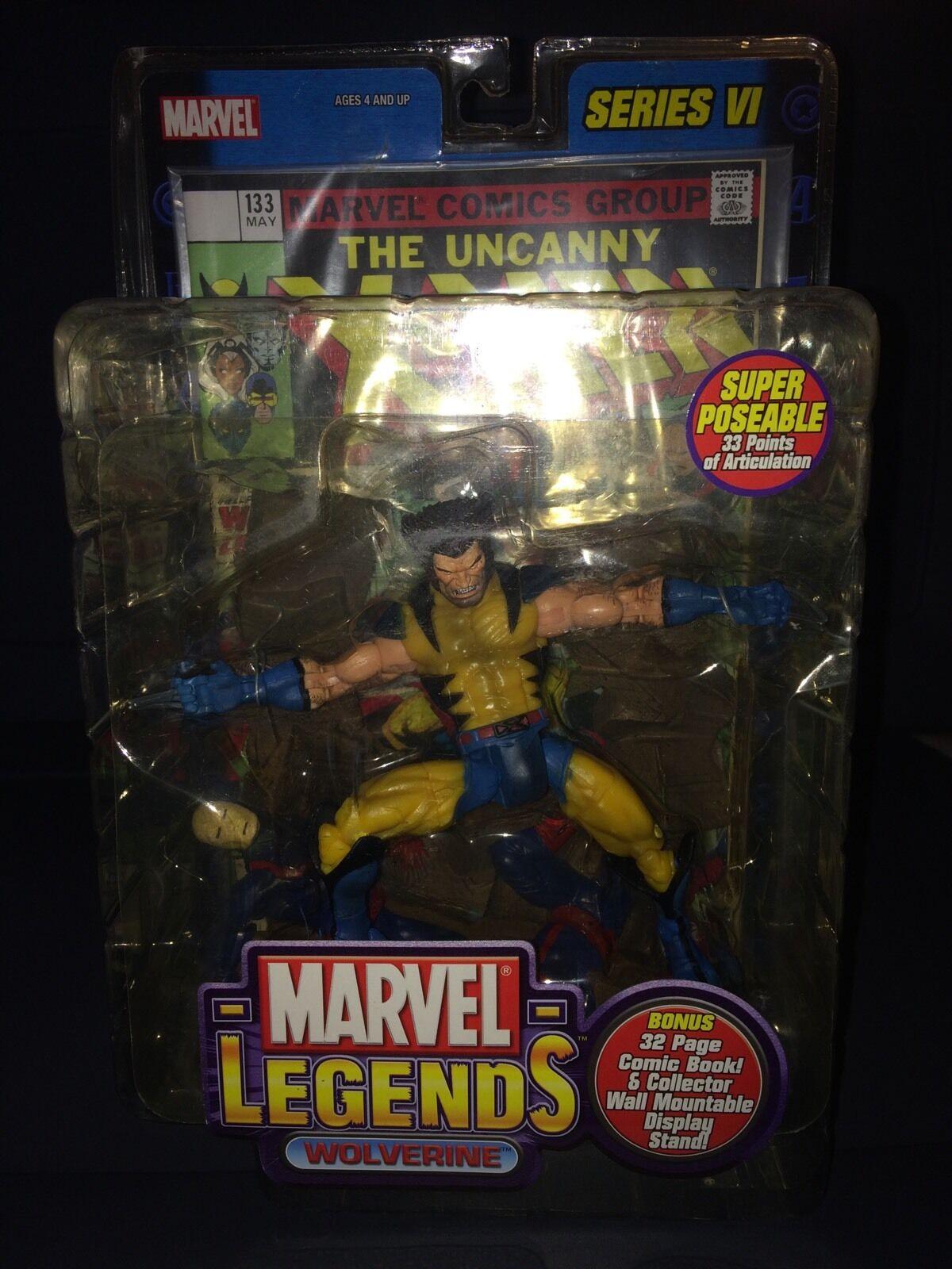 Marvel Legends Wolverine Variant Series VI