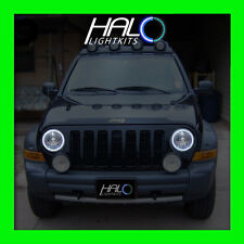 2002 2007 Oracle Lighting Jeep Liberty White Plasma Headlight Halo Ring Kit
