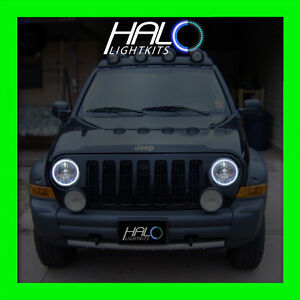 Image Is Loading 2002 2007 Oracle Lighting Jeep Liberty White Plasma