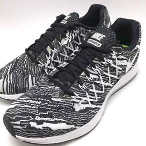 premium selection 68cb7 4b89a Details about NIKE AIR ZOOM PEGASUS 32 PRINT Black/White Men's Running  Trainers 806805 001