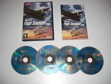 2004 Simulatore di volo MICROSOFT un secolo di volo PC CD ROM Gioco Base msfs