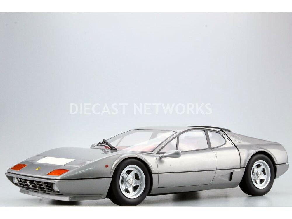 Top Marques 1981 Ferrari 512 Bbi argento 1 12 Escala Edición Limitada de 250  Nueva Versión