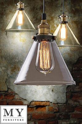 Olivier - vintage retro industrial pendant light  Edison filament bulb included