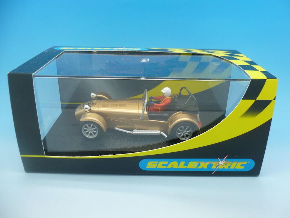 Scalextric C2308 Caterham 7 gold