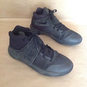 new style 42669 a1709 Details about Nike Kyrie Irving 2 GS Triple Black Sneakers 826673-008 Shoes  Youth Boys Size 7Y