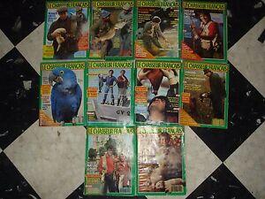 Lot-de-magazines-de-chasse-le-chasseur-francais-annee-1989