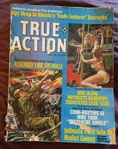 Vintage True Action Magazine Volume 12 #3 May 1967