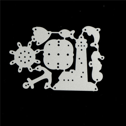 Ocean Rudder Design Metal Cutting Die For DIY Scrapbooking Album Paper CardsCYCA