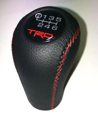 Toyota Tacoma 6 Speed TRD Shift Knob 2005-2015 4.0 Corolla AR10 Genuine Leather