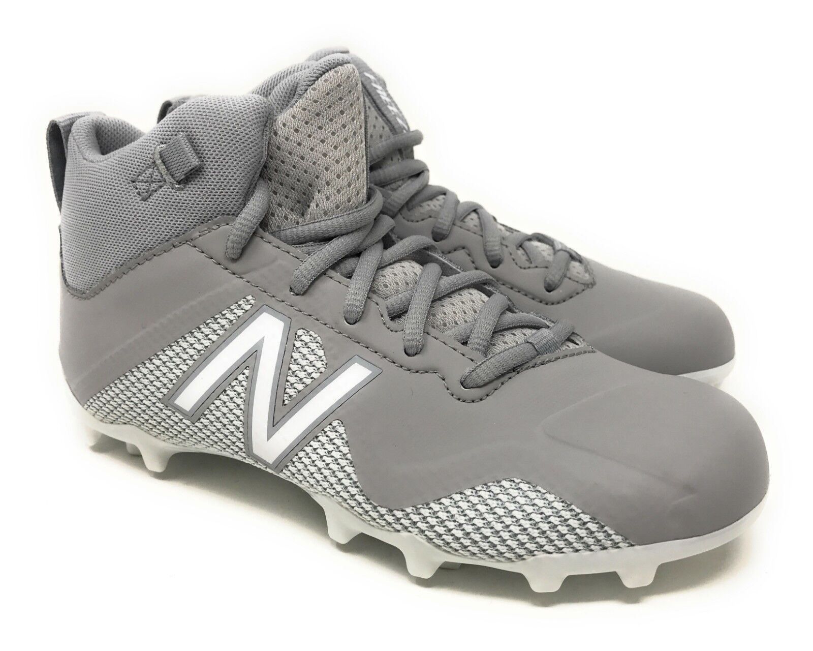 New Balance Freeze Lacrosse Cleats FREEZJGW Grey Kid's Size 2.5Y