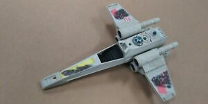 Vintage-STAR-WARS-Movie-Shot-X-Wing-Fighter-Ship-Toy-see-photos