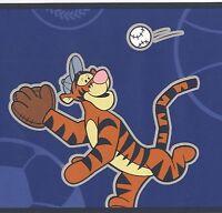 Tigger Varsity Blue Boys Sports Football Soccer Baseball Wallpaper Wall Borders
