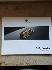 Porsche-911-Boxter-Wartungsheft-Scheckheft-Garantiewartung-Serviceheft-Checkheft