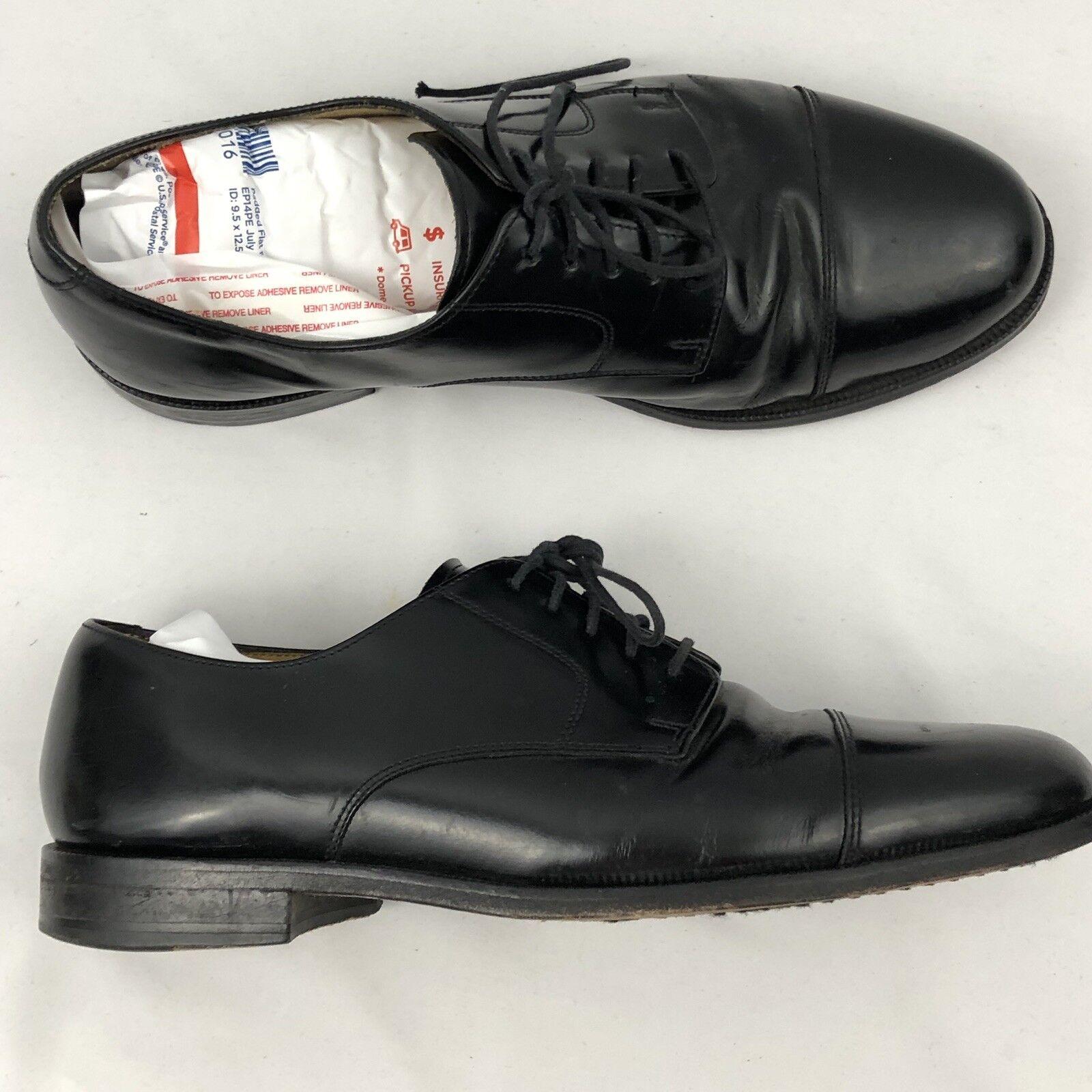 Cole Haan Homme à Lacets en Cuir Noir Cap Toe   derbies chaussures taille 9.5D