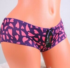 image is loading queen hipster hearts silky smooth valentine 039 s - Valentine Panties