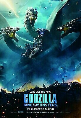 Godzilla King of The Monsters Movie Poster 24x36 for sale online | eBay